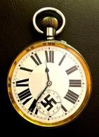 WWII - MONTRE GOUSSET OFFICIER ALLEMAND - 1939-45