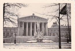 Foto Wien - Parlament - Ringstraße - Winter - Ca. 1940 - 8*5,5cm  (42188) - Orte