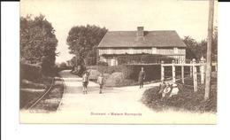 DRUCOURT. CPA. Maison Normande. Carte Rare. Voir Description - France