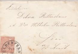 AD Nord Deutscher Postbezirk Brief 1870 - Conf. De L' All. Du Nord