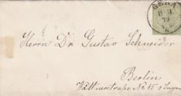 AD Nord Deutscher Postbezirk Dokument 1870 - North German Conf.