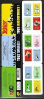 FRANCE, 2019, MNH,ASTERIX, FISH, DOGS, MUSIC, BARDS, BOOKLET - Childhood & Youth