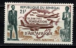 Senegal 1962  Yv PA 36**  MNH - Sénégal (1960-...)