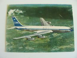 BOEING BOAC   AIRLINES AVIATION  FORMATO  GRANDE  BOLLO RIMOSSO - Aerodromi
