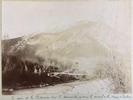 Le Mont De La Patinoire Sur La Durance (au-dessus Du Massif De La Croix De Toulouse). Montagne. Hautes-Alpes. Vers 1900. - Fotos