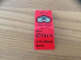 "Pochette D'allumettes Suisse ""HOTEL Olden - Oftaad"" - Boites D'allumettes"