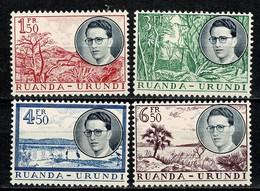 Ruanda Urundi 1955 OBP/COB 196/199** MNH - 1948-61: Neufs