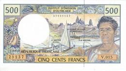 BILLETE DE OUTRE MER DE 500 FRANCS  (BANKNOTE) SIN CIRCULAR-UNCIRCULATED - Französisch-Pazifik Gebiete (1992-...)