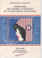 Terres Australes Et Antarctiques Françaises (TAAF) >  Documents De La Poste:  REVOLUTION 1789-1989 - Unclassified