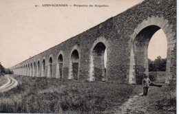 Cpa Louveciennes Perspective Des Acqueducs. - Louveciennes