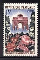 FRANCE 1959 -  Y.T. N° 1189 - NEUF** /4 - Francia
