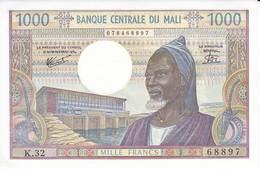 BILLETE DE MALI DE 1000 FRANCS DEL AÑO 1970 EN CALIDAD EBC (XF) (BANKNOTE) - Malí