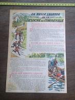LIS 1939-40 BELLE LEGENDE LA CLOCHE DE CORNEVILLE HONFLEUR PONT AUDEMER  NOS CHERES POUPEES MAELZEL - Vieux Papiers