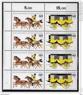 Duitsland 1985 Nr 1087/88 **, 4x, Zeer Mooi Lot Krt 3680 - Timbres