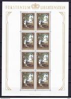 Liechtenstein 1978 Nr 658/60 **, In Volledig Vel, Zeer Mooi Lot 3531  ( 3 Scans ) - Timbres
