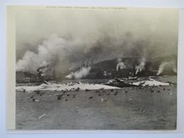 (1962)  NORVEGE NORGE  Chasse à La Baleine  -  Whaling  - Coupure De Presse Originale (encart Photo) - Documents Historiques