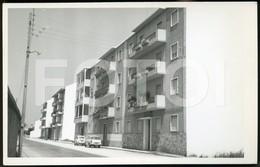 60s REAL PHOTO FOTO POSTCARD RUA D AFONSO HENRIQUES ENTRONCAMENTO SANTAREM PORTUGAL CARTE POSTALE - Santarem