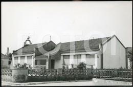 60s REAL PHOTO FOTO POSTCARD ESCOLA PRIMARIA ENTRONCAMENTO SANTAREM PORTUGAL CARTE POSTALE - Santarem