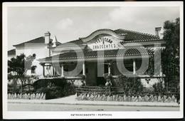 60s REAL PHOTO FOTO POSTCARD CASA DOS INDIGENTES ENTRONCAMENTO SANTAREM PORTUGAL CARTE POSTALE - Santarem