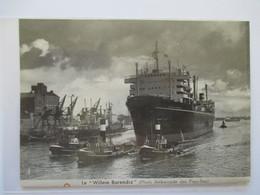 """(1962) PAYS BAS  Chasse à La Baleine  """"Willem Barendsz"""" -  Whaling  - Coupure De Presse Originale (encart Photo) - Documents Historiques"""