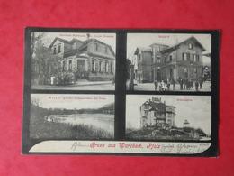 AK Gruss Aus Wurzbach 1909 - Gasthaus Nussbaum, Bahnhof, Weiher, Erhardsruhe - To Identify