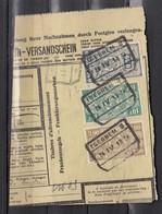 Fragment Met Stempel Iseghem - Chemins De Fer