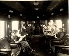 CANADIAN NATIONAL RAILWAYS RADIO OBSERVATION CANADA CHEMIN DE FER Train Railway 24*18 CM Fonds Victor FORBIN 1864-1947 - Trenes