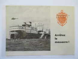 """(1962) SCOTLAND Southern Venturer """"LEITH""""  Pêche à La Baleine -  Whaling  - Coupure De Presse Originale (encart Photo) - Documents Historiques"""