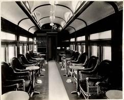 CANADA CHEMIN DE FER Train Railway 24*18 CM Fonds Victor FORBIN 1864-1947 - Trenes