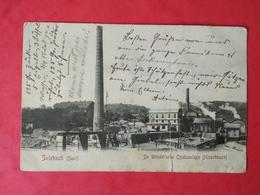 AK SULZBACH De Wendel' Sche Coaksanlage ( Hirschbach ) SULZBACH 1905 SAAR - Saarbruecken