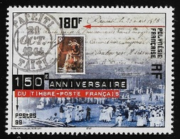 POLINESIA FRANCESE- 1999 - Valore Nuovo S.t.l. Da 180 F.- 150° ANNIV. PRIMO FRANCOBOLLO FRANCESE - In Ottime Condizioni. - Polinesia Francese