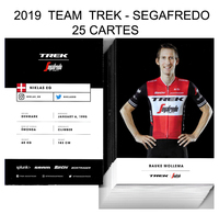 CARTES CYCLISME TEAM  TREK - SEGAFREDO 2019 ( 25 CARTES ) - Cyclisme