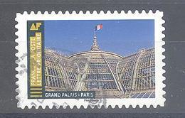France Autoadhésif Oblitéré (Histoire De Styles Architecture - Grand Palais Paris) (cachet Rond) - France