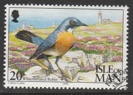 Isle Of Man 1994 Ornithological Observatory Of Calf Of Man 20 P Multicolored SW 560 O Used - Isle Of Man