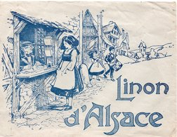 Enveloppe Avec Scène Alsacienne - LINON D'ALSACE - Werbung
