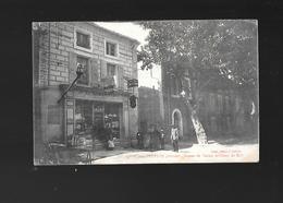 C.P.A. DU BUREAU DE TABACS ET COURS DU MIDI A TULETTE 26. - Francia