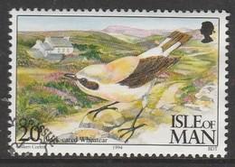 Isle Of Man 1994 Ornithological Observatory Of Calf Of Man 20 P Multicolored SW 561 O Used - Isle Of Man