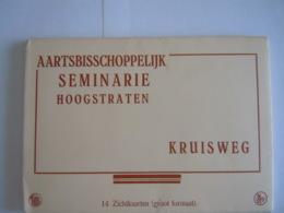 Aartsbisschoppelijk Seminarie Hoogstraten Kruisweg 14 Zichtkaarten (groot Formaat) Nels - Hoogstraten