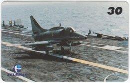 BRASIL I-504 Magnetic Telemar - Military, Aircraft - Used - Brésil