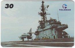 BRASIL I-505 Magnetic Telemar - Military, Aircraft - Used - Brésil