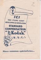 Pochette De Photos (vide) -  KODAK FILM DEVELOPPE AU REVELATEUR - Matériel & Accessoires