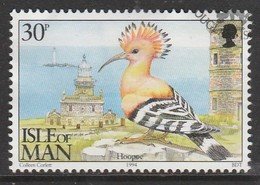 Isle Of Man 1994 Ornithological Observatory Of Calf Of Man 30 P Multicolored SW 565 O Used - Isle Of Man