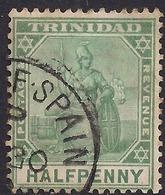 Trinidad 1901 - 06 KEV11 1/2d Grey Green SG 126 ( M1190 ) - Trinidad & Tobago (...-1961)
