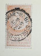 COB N ° 62 Oblitération St Gilles Brux Monnaie - 1893-1900 Fine Barbe