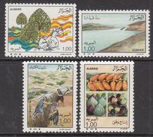 1987 Algeria Algerie  Agriculture  Fruits Figs Dates Complete Set Of 4 MNH - Algérie (1962-...)
