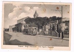 Trapani Borgo Annunziata Tram Doppio  1942 - Trapani