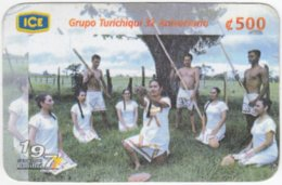 COSTA RICA A-198 Prepaid ICE - Culture, Traditional People - Used - Costa Rica