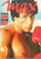 Carte Postale (Promocard - Italie) Magazine Max (acteur) Sylvester Stallone (Rambo - Rocky) - Acteurs