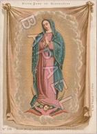 Notre-Dame De Guadeloupe - Non Fecit Taliter Omni Nationi (Près Mexico) (2) (Recto-Verso) - Images Religieuses