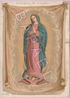 Notre-Dame De Guadeloupe - Non Fecit Taliter Omni Nationi (Près Mexico) (3) (Recto-Verso) - Images Religieuses